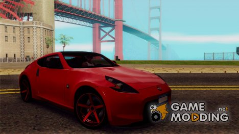 Nissan 370Z Vossen for GTA San Andreas