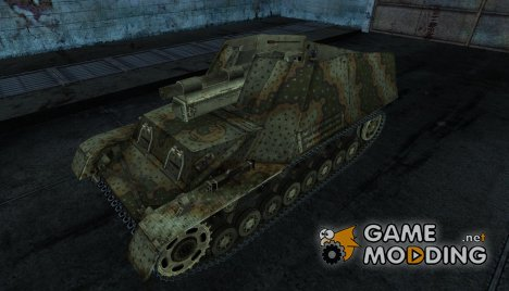Hummel 08 для World of Tanks