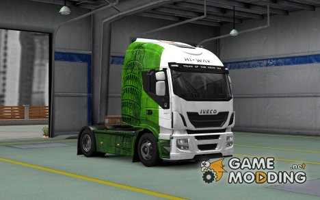 Скин Italy для Iveco Hi-Way for Euro Truck Simulator 2