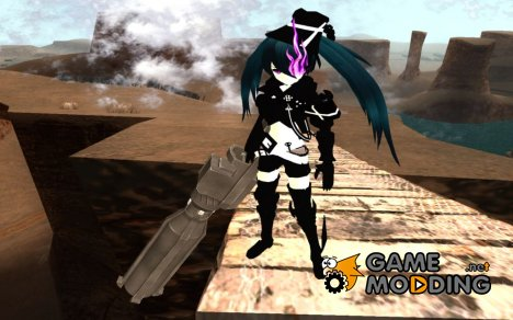 Insane Black Rock Shooter for GTA San Andreas