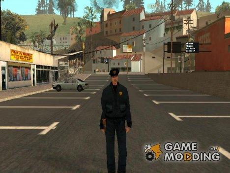Полицейский из GTA 3 для GTA San Andreas
