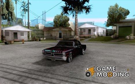 Pontiac GTO 1965 NFS Pro Street с новыми винилами for GTA San Andreas
