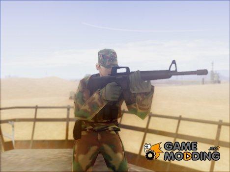 Пак оригинального оружия в HD By SkillBoy для GTA San Andreas