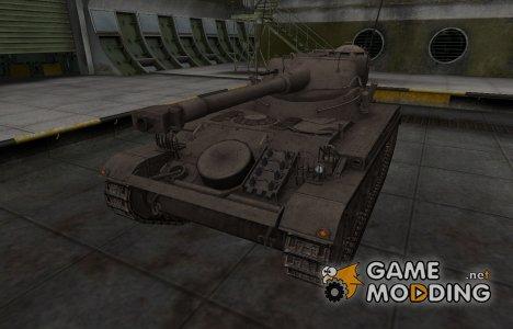 Перекрашенный французкий скин для AMX 13 75 для World of Tanks