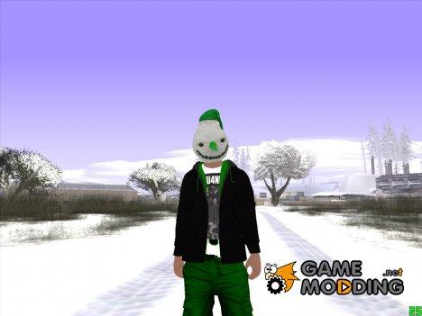 Skin GTA V Online Снеговик for GTA San Andreas