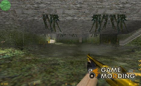 Golden M3 By Boizer для Counter-Strike 1.6
