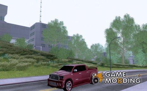 Toyota Tundra Sport для GTA San Andreas