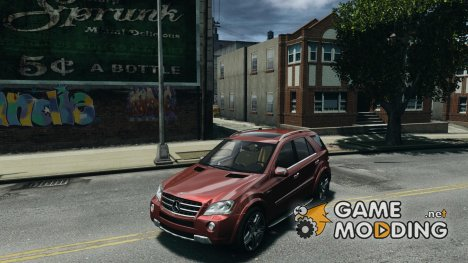 Mercedes-Benz ML63 (AMG) 2009 для GTA 4