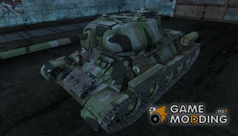 Шкурка для Т-34-85 для World of Tanks