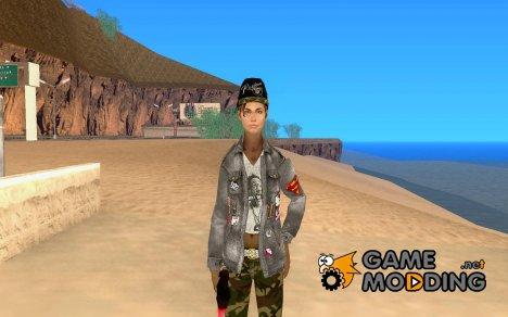Девушка байкера for GTA San Andreas