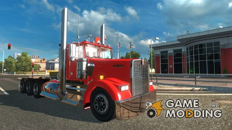 Kenworth W900L for Euro Truck Simulator 2