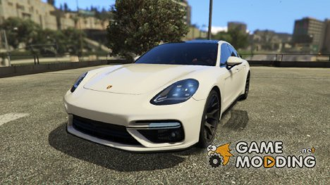 Porsche Panamera Turbo 2017 for GTA 5