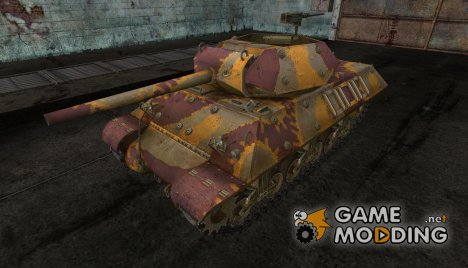 шкурка для M10 Wolverine №8 for World of Tanks