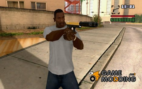 Gold silenced for GTA San Andreas
