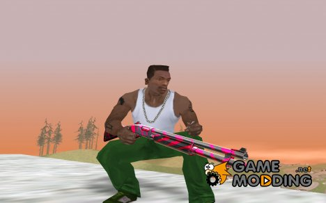 Red Tiger Shotgun for GTA San Andreas