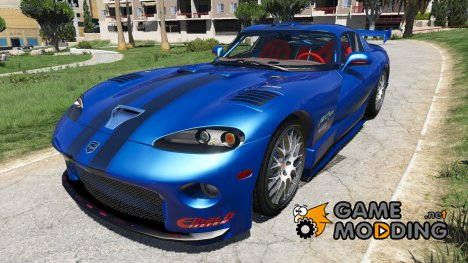 1999 Dodge Viper GTS ACR для GTA 5