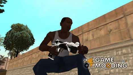 Desert Eagle Skeleton для GTA San Andreas