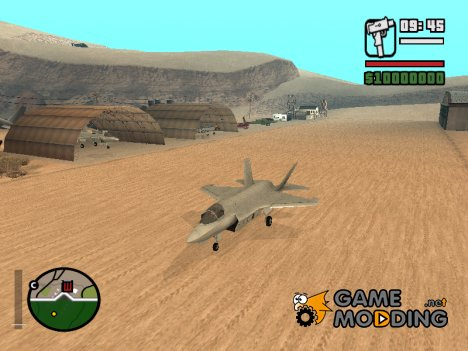 F 35B Lightning II для GTA San Andreas