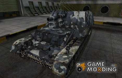 Немецкий танк Hummel для World of Tanks
