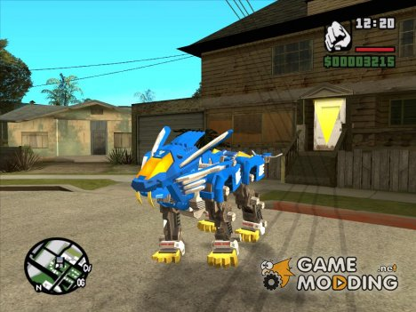 Blade Liger (Zoids) for GTA San Andreas