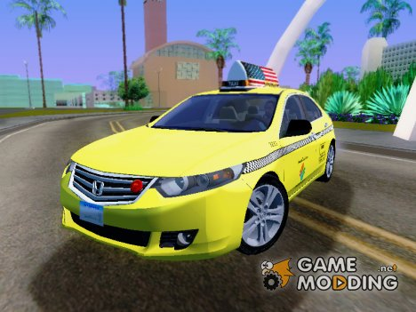 2010 Honda Accord Taxi for GTA San Andreas
