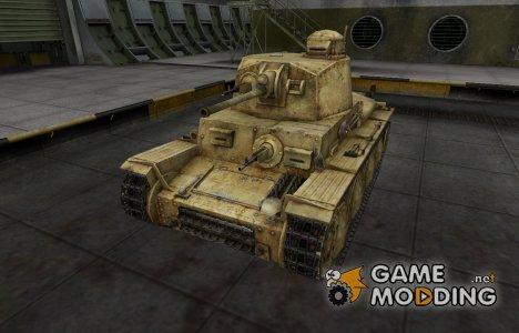 Исторический камуфляж PzKpfw 38 (t) для World of Tanks