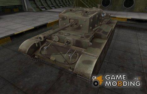 Пустынный скин для Comet для World of Tanks