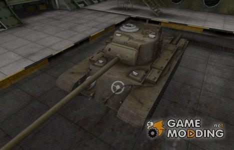 Зоны пробития контурные для T32 для World of Tanks