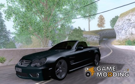 Mercedes-Benz SL 500 v2 для GTA San Andreas