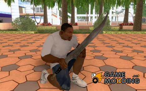 Меч из игры Prince of Persia:The Forgotten Sands for GTA San Andreas
