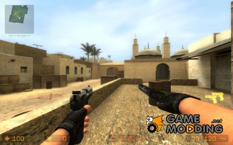 [fixed]Colt Compact and USP on RAM! anims for Counter-Strike Source