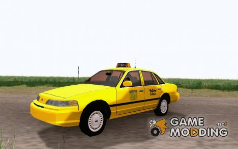 1992 Ford Crown Victoria Taxi for GTA San Andreas