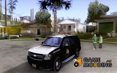 Chevrolet Tahoe Texas Highway Patrol для GTA San Andreas