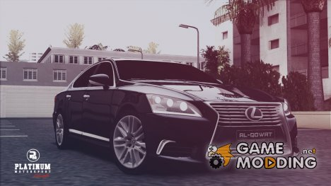 Lexus LS XF40 for GTA San Andreas