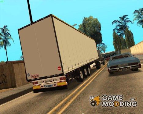 """Прицеп """"Krone"""" для GTA San Andreas"""