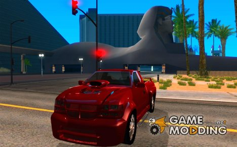 Dodge Dakota tuning для GTA San Andreas