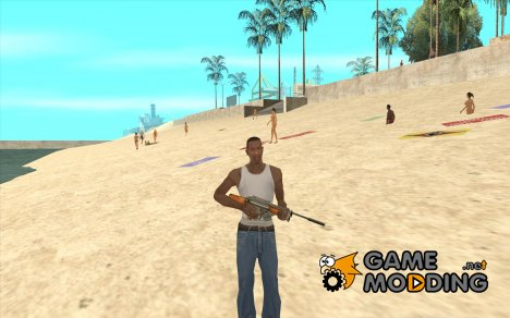 RAPTOR Sniper Rifle from Serious Sam для GTA San Andreas