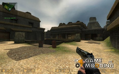 Caboose's Woodland Camo Deagle for Counter-Strike Source