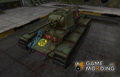 Качественные зоны пробития для КВ-1 для World of Tanks