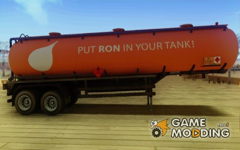 GTA V RON Tanker Trailer для GTA San Andreas