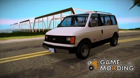 Chevrolet Astro 1988 для GTA San Andreas