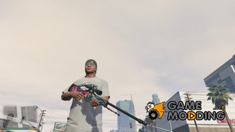 AWP Hyper Beast from CSGO for GTA 5