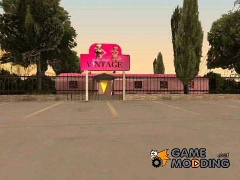 Новый Стрип Клуб  в Bone Counte for GTA San Andreas