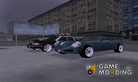 Argos 3D Wheels for GTA 3
