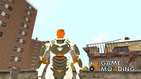 Железный человек 3 Mark 39 Gemeni for GTA 4