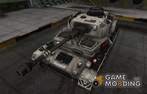 Отличный скин для PzKpfw IV hydrostat. для World of Tanks