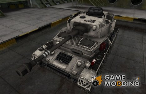 Отличный скин для PzKpfw IV hydrostat. for World of Tanks
