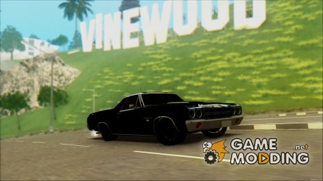 Chevrolet El Camino SS Green Hornet for GTA San Andreas