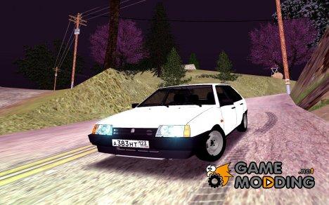 """ВАЗ 2109, Rols """"Белоснежка"""" для GTA San Andreas"""