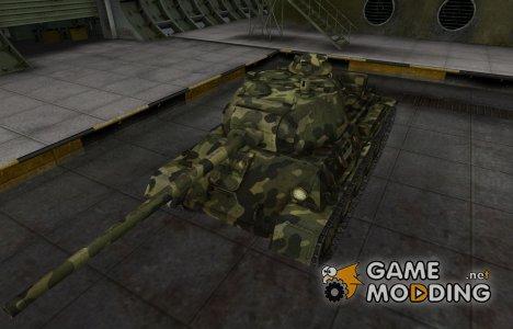 Скин для Т-43 с камуфляжем for World of Tanks